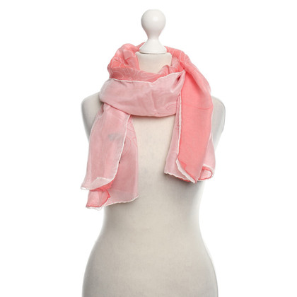 Loewe silk scarf in Rosé