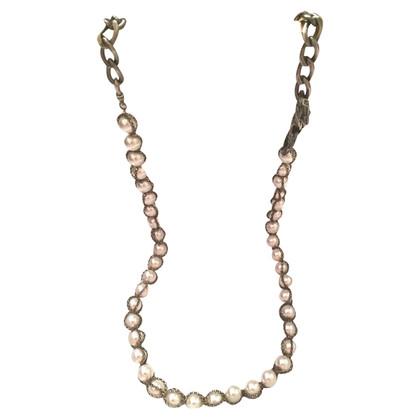 Lanvin collana di perle bianco