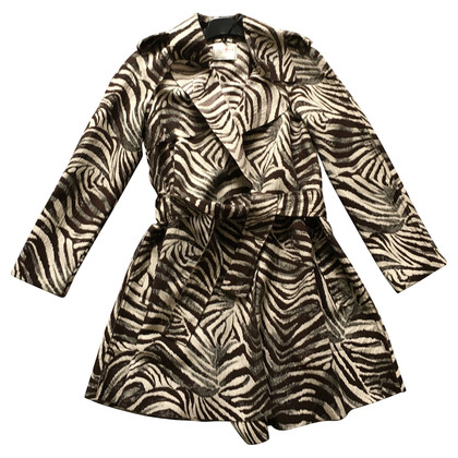 Lanvin for H&M Zebra trench coat