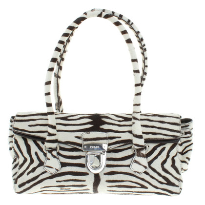 Prada Handtasche mit Animal-Design