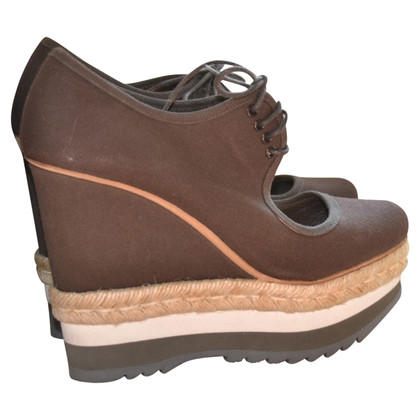 Prada Wedges in brown