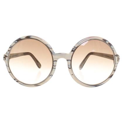 Tom Ford Round sunglasses in the stripe design