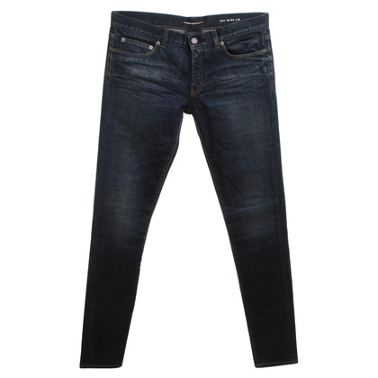 Saint Laurent Skinny blue jeans