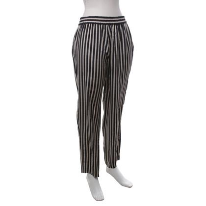 Etro trousers in beige / black