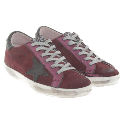 Golden Goose Sneakers in Bordeaux