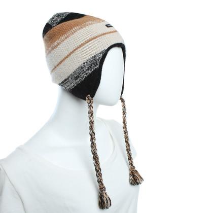 Dolce & Gabbana Strickmütze mit Streifenmuster