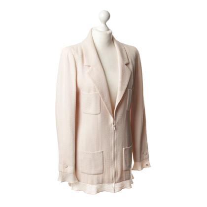 Chanel Long Blazer in Rosé