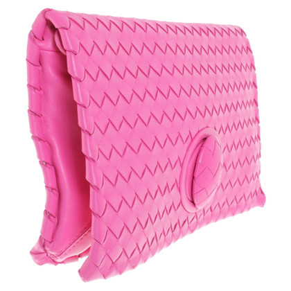 Bottega Veneta clutch in pink