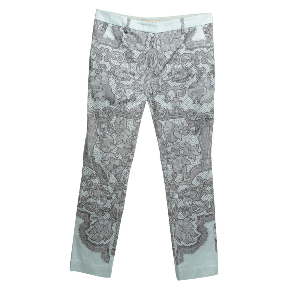 Emilio Pucci Pants with lace pattern