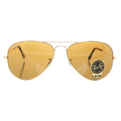 Ray Ban Pilotenbrille in brown