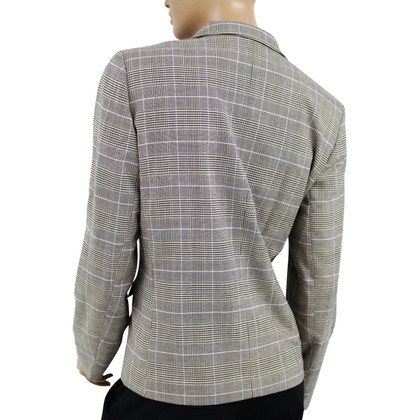 Escada Grey Checked Blazer