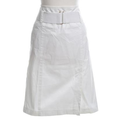 Strenesse Katoenen rok in wit
