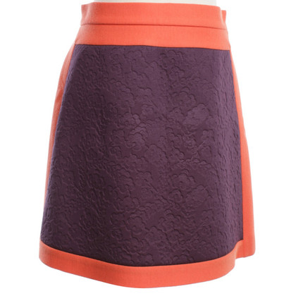 Missoni Mini Rok in Orange / Paars