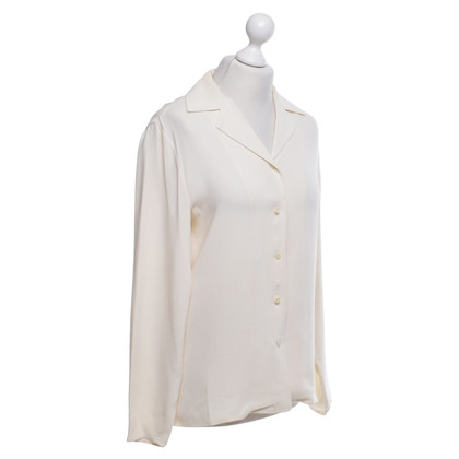 Emanuel Ungaro Silk blouse in cream