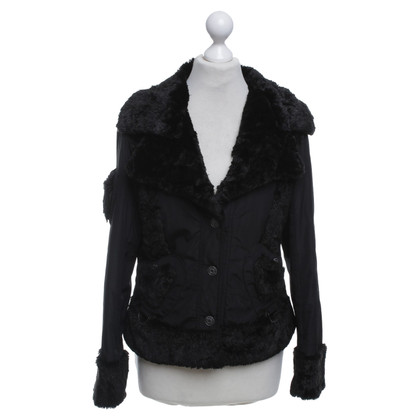 Christian Dior Jacket with woven fur