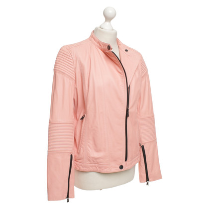 Marc by Marc Jacobs Giacca di pelle in rosa