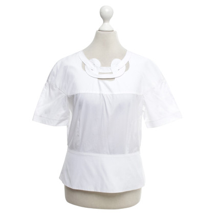 Bally Top in bianco