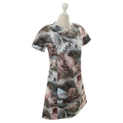 Carven Kleid mit Motiv-Print