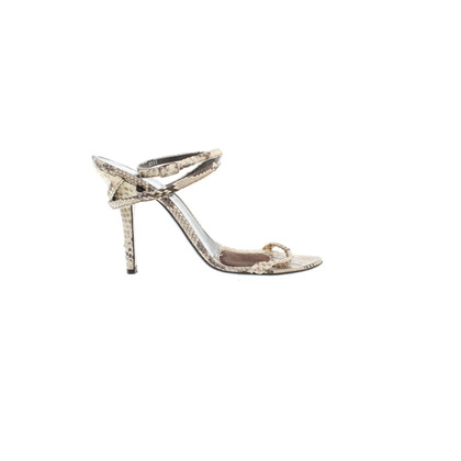 Helmut Lang Reptile sandals