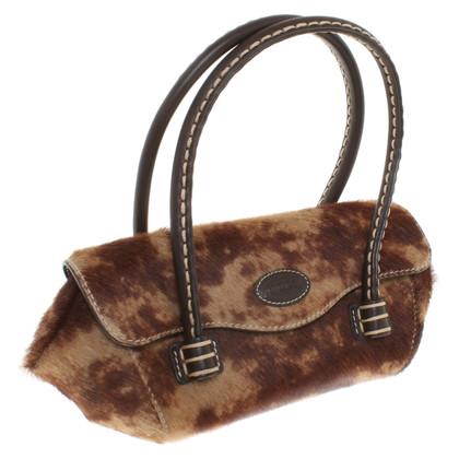 Tod's sac à main en cuir de vache