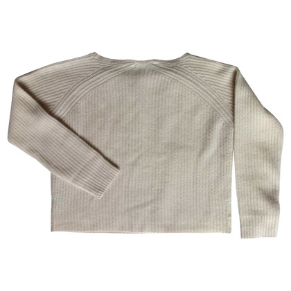 360 Sweater Cashmere sweater in offwhite