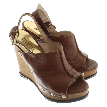 Michael Kors peeptoes Wedge