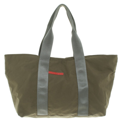 Prada Shopper in olive