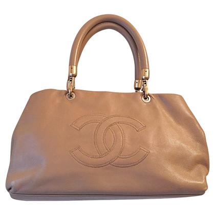 Chanel Shopper con logo CC