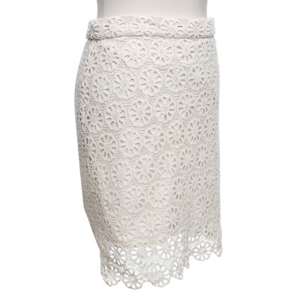 French Connection Lace skirt in cream
