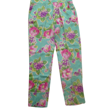 Blumarine Pants made of silk