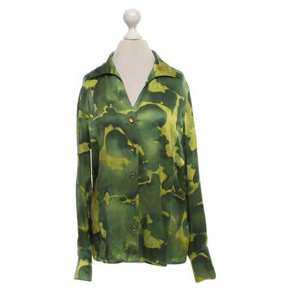 Escada Silk satin blouse