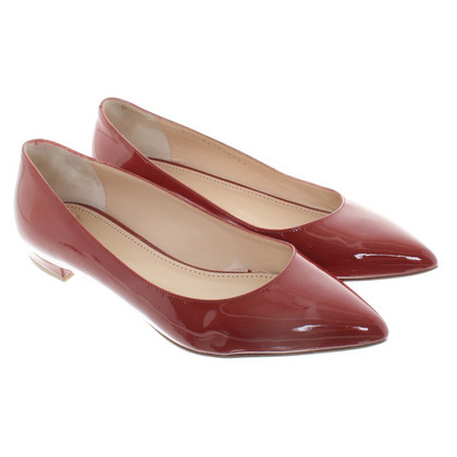 Bally Ballerinas in Rot