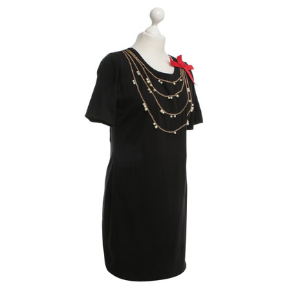 Moschino Love Dress with chains and beads