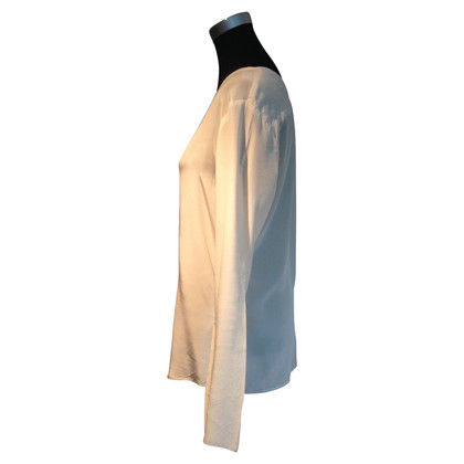 Drykorn Blouse of silk in offwhite