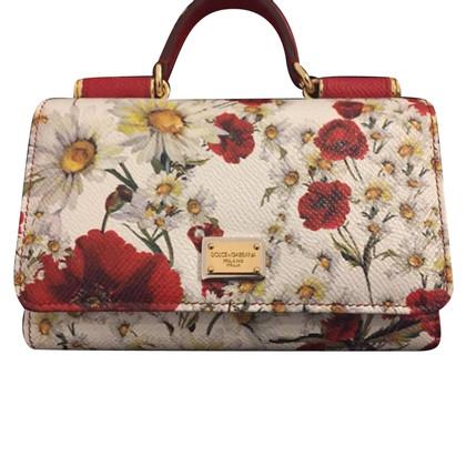 Dolce & Gabbana clutch with pattern