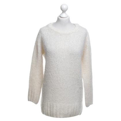 American Vintage Knit sweater in cream white