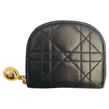 Christian Dior Lederen munt portemonnee