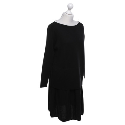 Cos Woolen dress in black