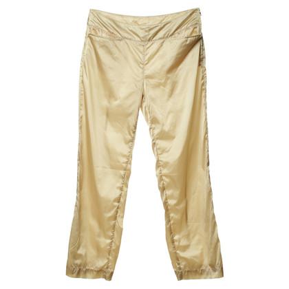 Prada Pantaloni in tessuto lucido