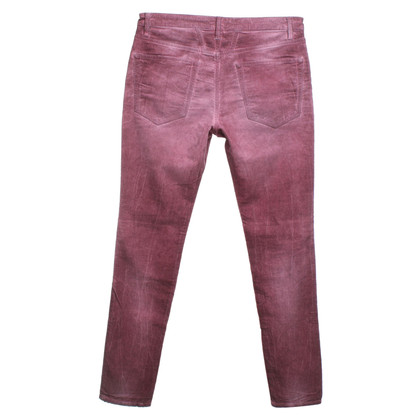Closed Corduroy pants in Bordeaux
