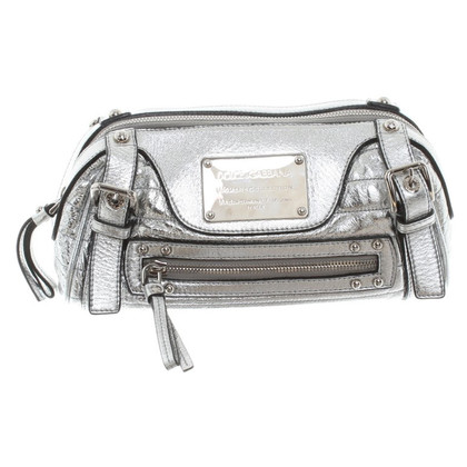 Dolce & Gabbana Leather clutch in silver