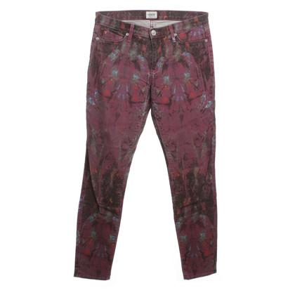 Hudson Skinny jeans con stampa