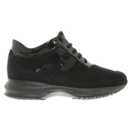 Hogan Sneakers mit Pailletten