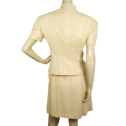Christian Dior Silk Dress Suit