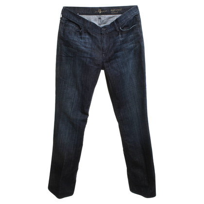7 For All Mankind Jeans in blu scuro
