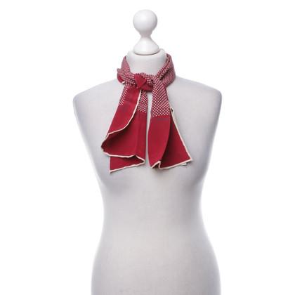 Aigner Zijden sjaal met motiefprint
