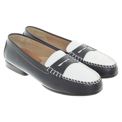 Unützer Loafer in Blau/Weiß