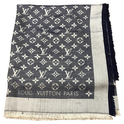 Louis Vuitton Monogram denim sjaal