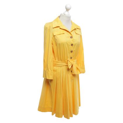 Diane von Furstenberg Blouse met overhemd in geel