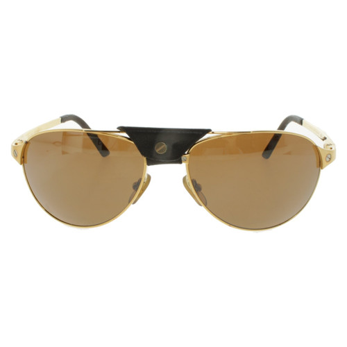 e157910a65c0 Cartier Sunglasses in gold colors - Second Hand Cartier Sunglasses ...